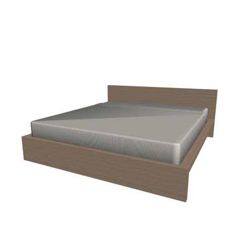ikea malm kopfteil 180 malm bed frame 180x200cm design and decorate your room in 3d