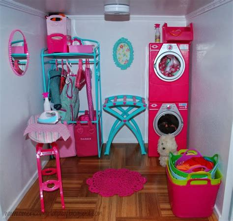 diy room decor for your american girl doll youtube an american girl at play laundry room update ag 18