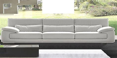 4 seater sofa leather italian leather sofa dolby by calia maddalena