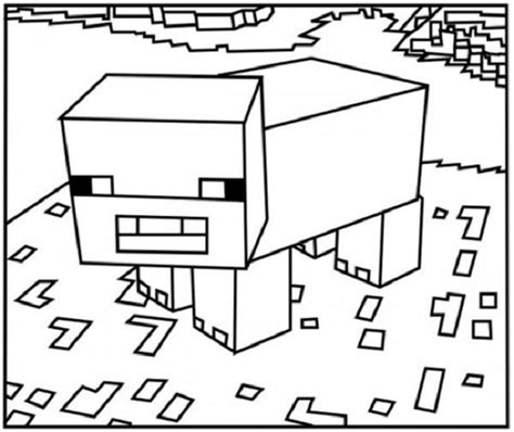 minecraft cheetah coloring pages minecraft animal coloring pages coloring kids