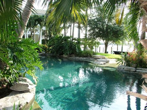 Backyard Pool With Lazy River Pool Design