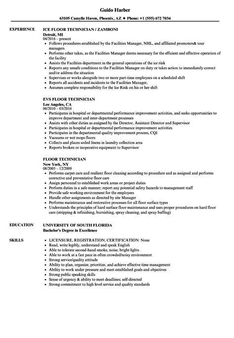 Sle Resume Janitorial Position by Janitorial Floor Technician Description Thefloors Co