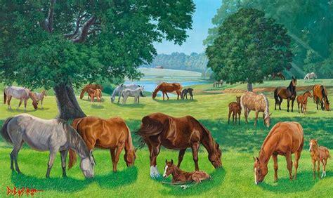 imagenes de paisajes y animales hermosos cuadros modernos pinturas y dibujos paisajes con