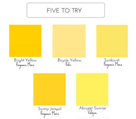 shades of yellow paint 5 bold colors for the front door emily a clark