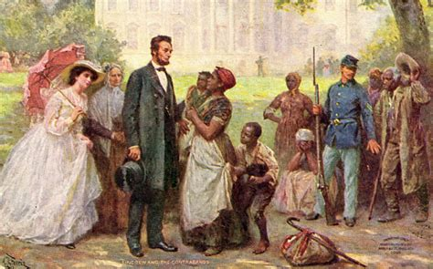 lincoln freeing the slaves emancipation proclamation abraham lincoln and slavery