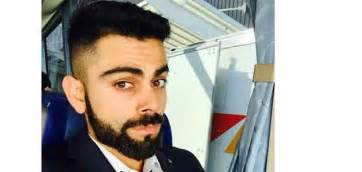 virat kohli new hair cut virat kohli gets new hairstyle top new top news