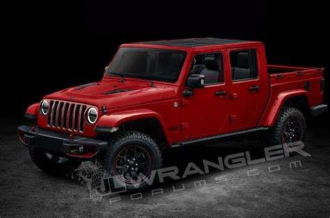 jeep truck 2017 will the jeep wrangler pickup look like this motor trend