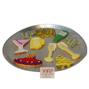 new year shaped cookies new years archives abc cake shop bakery