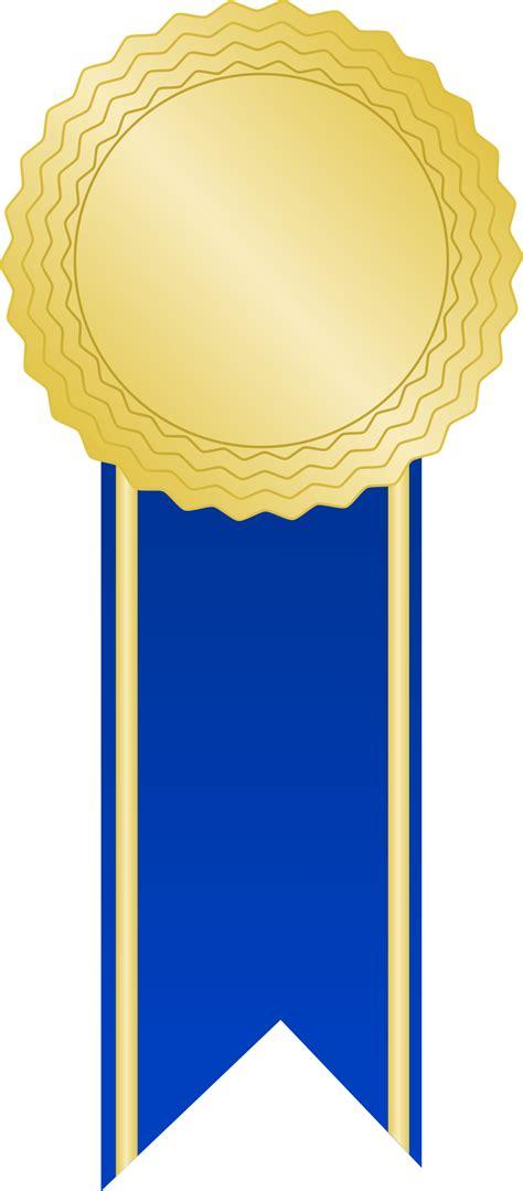 blue awards file inkscape golden award with a blue ribbon svg