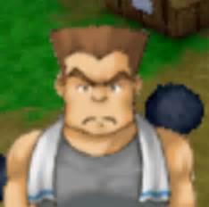 Gantungan Kunci Harvest Moon Karakter Zack welcome to my world 1313