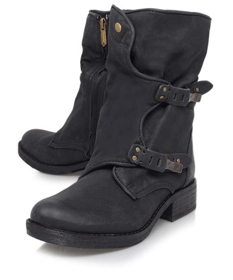 buckle biker boots boots 39 on biker boots bikers and liberty