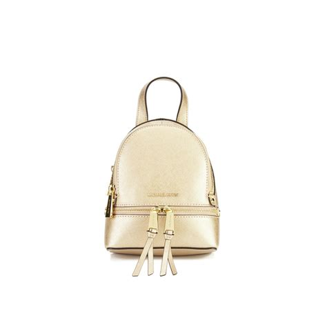 Tas Ransel Michael Kors Mk Rhea Mini Backpack Original michael michael kors rhea zip small crossbody backpack gold