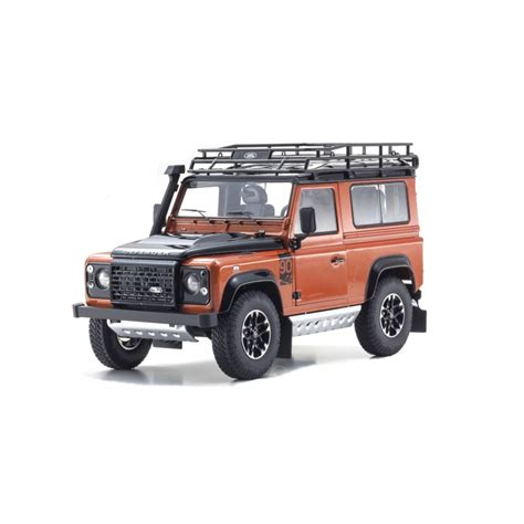 Kyosho 1 18 Scale Diecast 08901fw Land Rover Defender 90 Fuji White land rover defender 90 adventure orange 1 18 scale kyosho