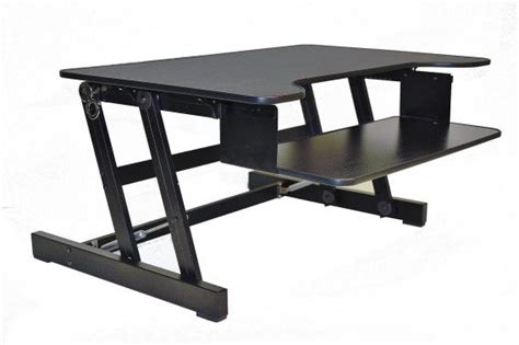 Sit To Stand Desk Reviews Rocelco Adr Sit To Stand Adjustable Desk Riser Review