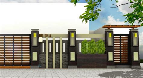 Pagar Rumah Minimalis 3 pagar rumah minimalis terbaru