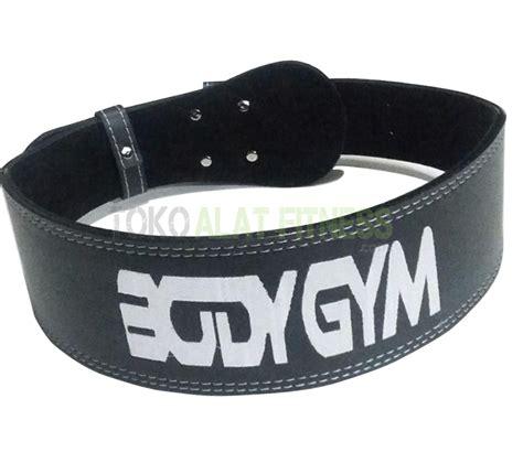 Sabuk Fitness Kettler sabuk fitness semi kulit size l toko alat fitness