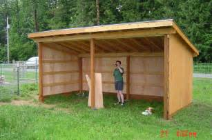 guide to get 3 sided run in shed plans wood shed