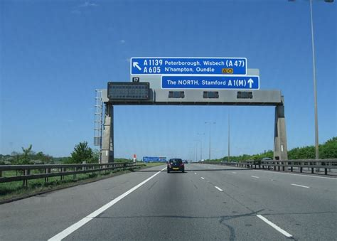 A1 3 0 0 7 M by A1 M Junction 17 169 Alex Mcgregor Cc By Sa 2 0