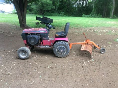 Landscape Rake Craigslist Tow York Rake Implements And Attachments