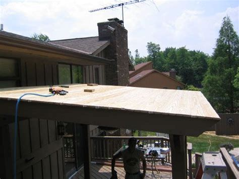 metal slanted roof idea  porch click   picture