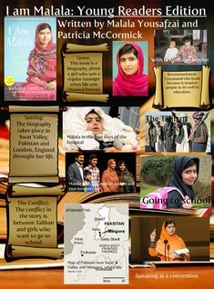 i am malala book report glogster multimedia posters educational content