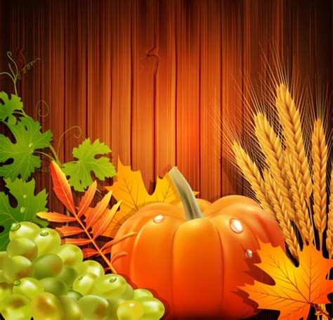 harvest background thanksgiving day harvest background vector 01 free