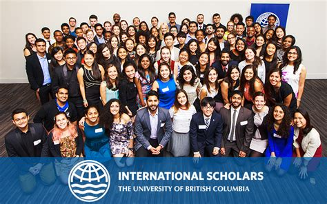 Ubc Mba 2018 by Of Columbia Scholarships 2018 For Study