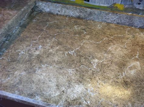 Imitation Granite Countertop by
