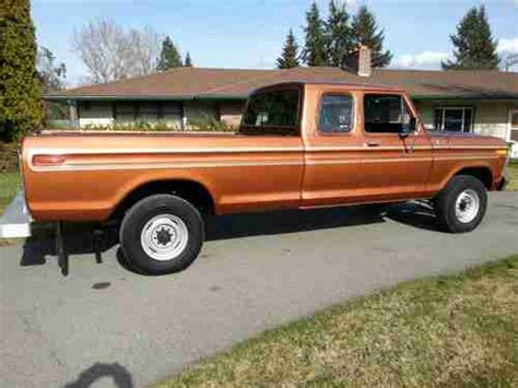 Find used 1978 Ford Ranger F 250 Supercab 4X4 Camper