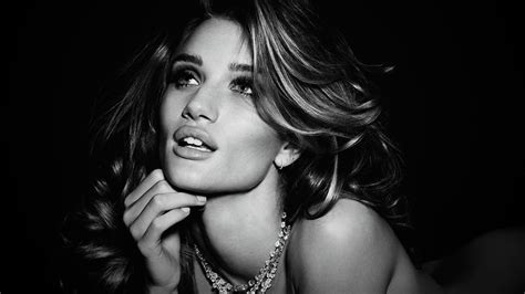 wallpaper black and white faces rosie huntington whiteley hd wallpapers
