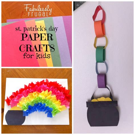 day crafts for st patricks day crafts ye craft ideas