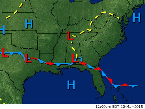 weather map southeast us southeast fronts surface map wsmv channel 4