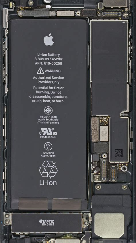 New Baterai Apple Iphone 5se Iphone 5 Se Original wallpaper of interior inside iphone 7 6s steemit