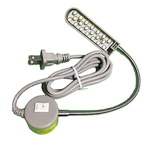 led gooseneck work light item4ever led 20mp 20 led 110v light magnetic mounting