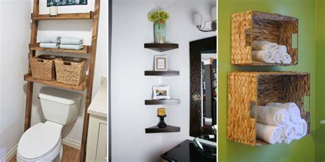10 creative and practical diy bathroom storage ideas