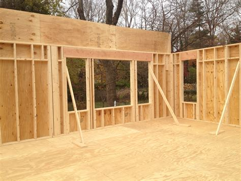 house walls framing exterior walls my auction house rehab