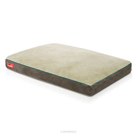 Washable Cover Brindle Soft Memory Foam Bed With Removable Washable