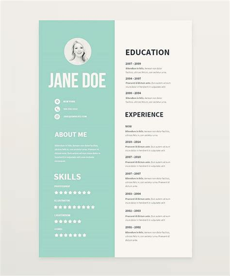 Pretty Resume Templates by Behance We And The O Jays On
