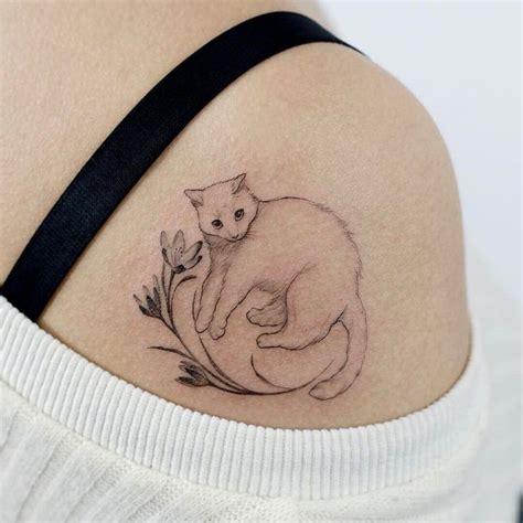 cat knife tattoo the 25 best cat tattoos ideas on pinterest