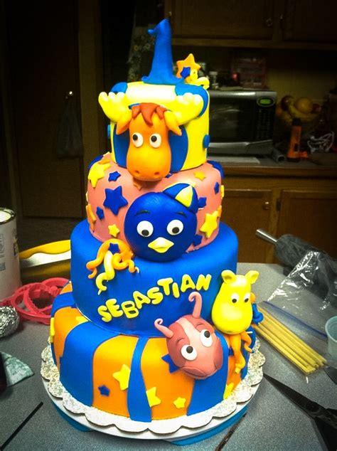 Backyardigans Birthday Backyardigans Themed Birthday Cake Ideas And Designs