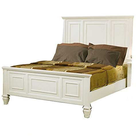 sandy beach white bedroom furniture sandy beach white queen bed by coaster furniture check