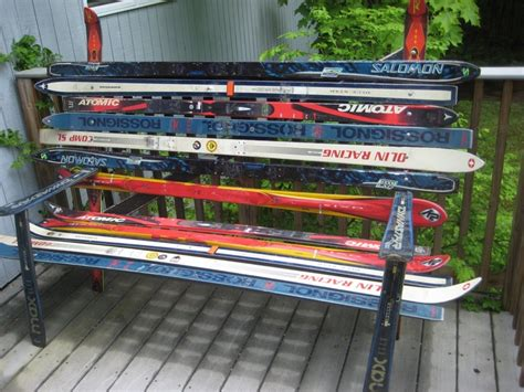 ski bench ski bench 2 recycle crafts pinterest