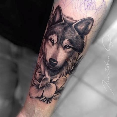 feminine wolf tattoo 25 best realistic sleeve ideas on