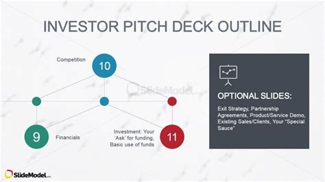 Investors Path Conclusiong Slide Design Slidemodel Investor Pitch Template