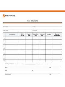 Rent Roll Form 5 Free Templates In Pdf Word Excel Download