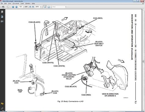 wiring diagram for jeep wrangler tj hardtop jeep wrangler