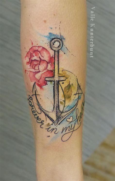 watercolor anchor tattoo anchor watercolor s