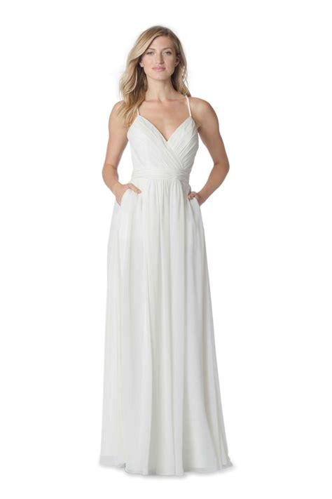 V Bj Rina Wolfis bari whites 2060 v neck destination wedding dress novelty