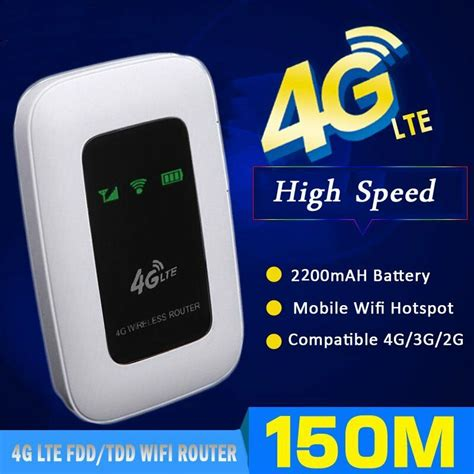 mobile wifi hotspot 150mbps 4g lte wireless router mobile wifi hotspot with