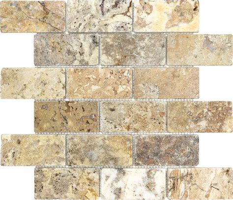 17 best ideas about travertine tile backsplash on